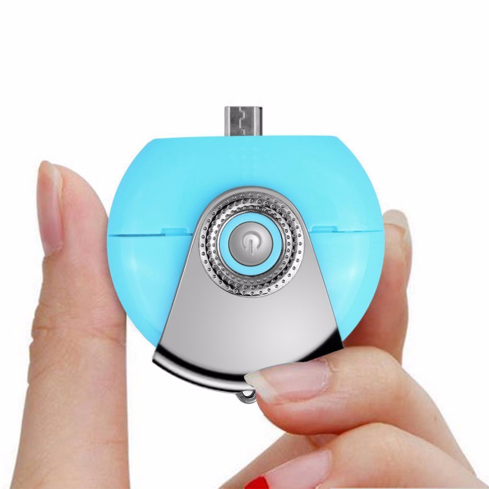 Portable Micro USB Plug Air Humidifier Purifier Mobile Phone Accessories Women Beauty Mist Spray Diffuser for Android Cell Phone(China (Mainland))