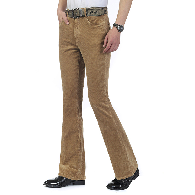 New-Arrival-High-Quality-Autumn-Candy-color-Corduroy-flare-trousers-Men-s-slim-mid-waist-elastic.jpg