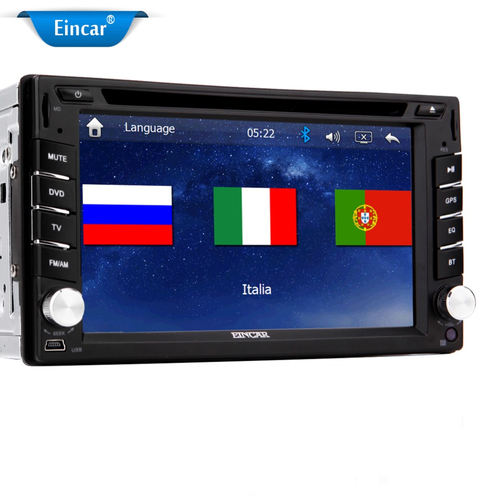 2 Din Car Stereo 6.2'' In dash Car DVD Player GPS Navigation Bluetooth Stereo Radio Direct USB for Ipod /Ipad/Iphone Free MAP(China (Mainland))