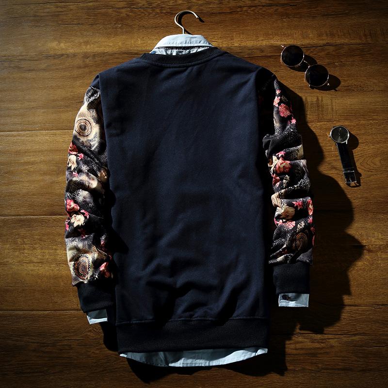 Новинка мужские 3d толстовка напечатаны животных пуловер толстовки цветочные полный рукавом на осень хип-хоп пота рубашки
