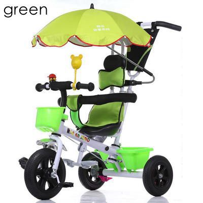 Pneumatic Inflatable 3 wheels tricycle children bicycle baby stroller bike kids ride on cars 6months 1-2-3-4-5 years old toys(China (Mainland))