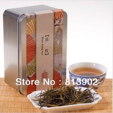 Free Shipping 100g Premium Dian Hong, Famous Chinese Yunnan Black Tea, Organic tea  Warm stomach Red Tea