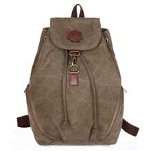 High Quality Women's Backpack Fashion School Bags Canvas Vintage Backpacks Travel Bag Camping Backpacks Korean Style