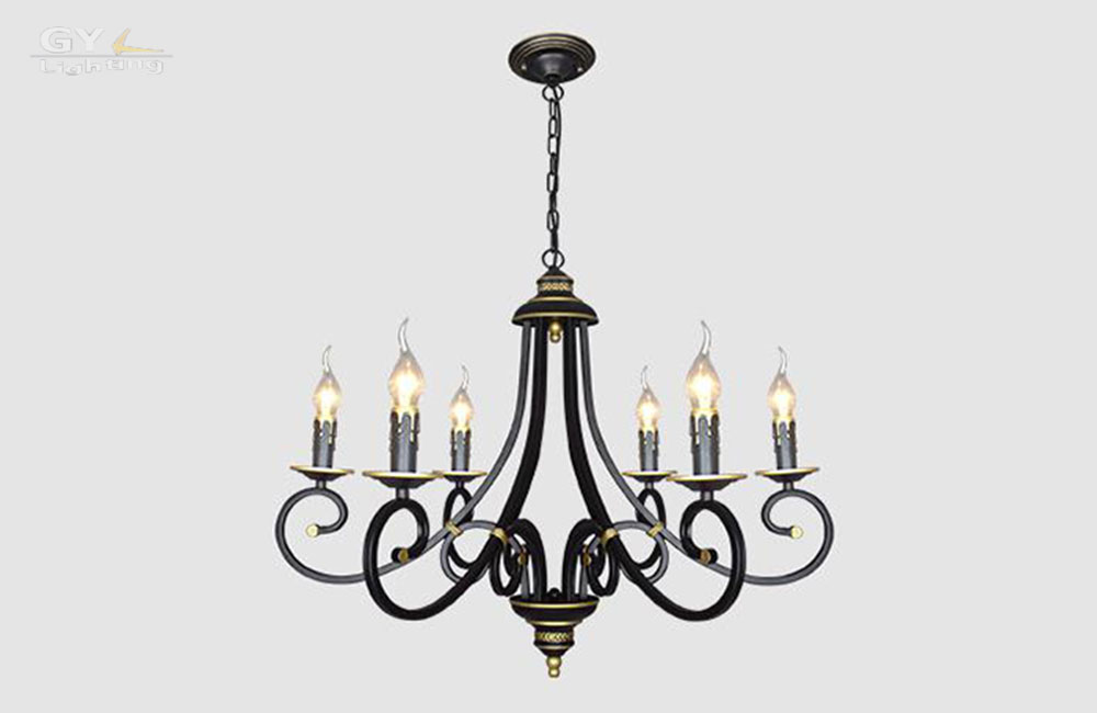 chandelier candle lustres living dining room bedroom lamp chandelier
