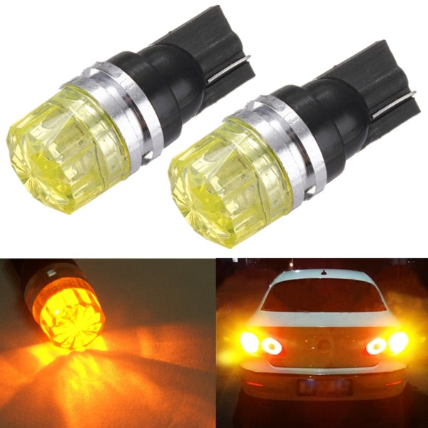 Hot Sale T10 W5W 194 168 Amber Yellow 5050 SMD LED Car Auto Side Tail Turn