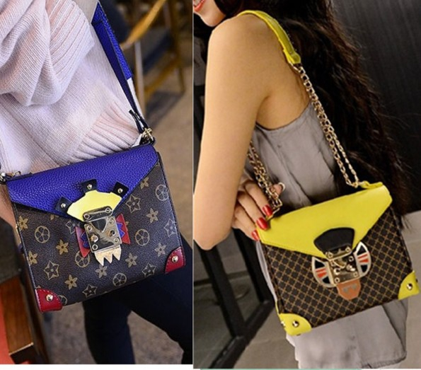 2015 mini chain bag envelope one shoulder cross-body women's handbag mask messenger bags day clutch - fashional accessories store