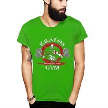 Kerah Bulat Kratos Gym Dewa Perang Baju TEE 2019 Baru untuk Pria Nyaman T Shirt Grosir(China)