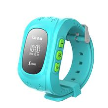 2016 HOT SALE Anti-lost Children Smart Watch GPS Positioning Bluetooth Wrist Watch For Android YYH* Free Shipping Vicky(China (Mainland))