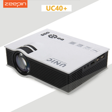 UNIC UC40 UC40+ Mini Pico portable 3D Projector HDMI VGA Home Theater beamer multimedia projector Full HD 1080P video Player(China (Mainland))