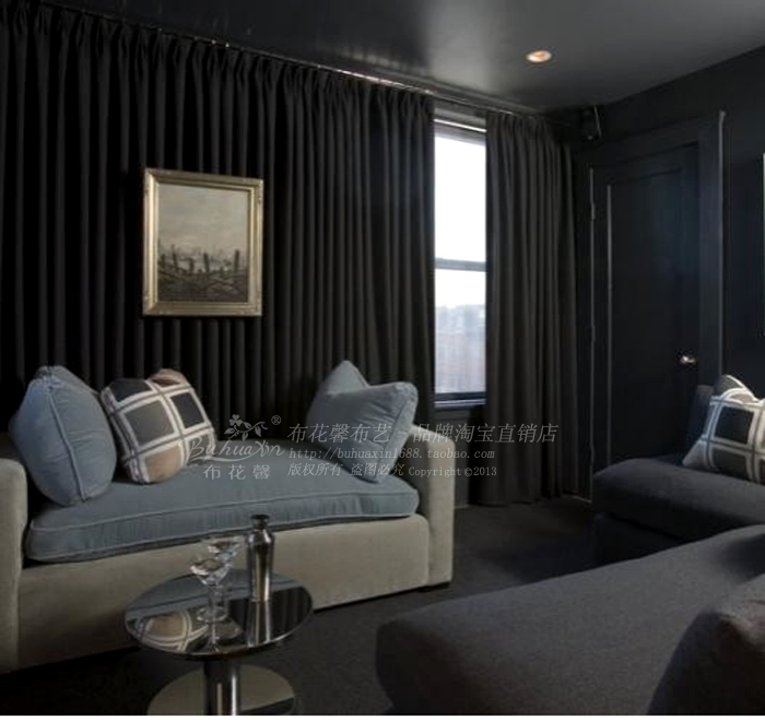 Curtains Ideas black sheer curtain : curtain styles Picture - More Detailed Picture about new solid ...
