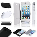Black White Portable Charger Power Bank 4200mah External Battery Pack For iPhone 5 5S With Protect