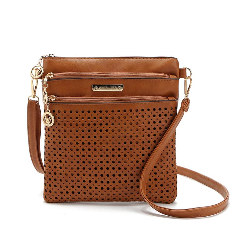 women messenger bags crossbody bags for women bolsas femininas 2016 ladies pu leather shoulder bag female vintage satchel bag(China (Mainland))