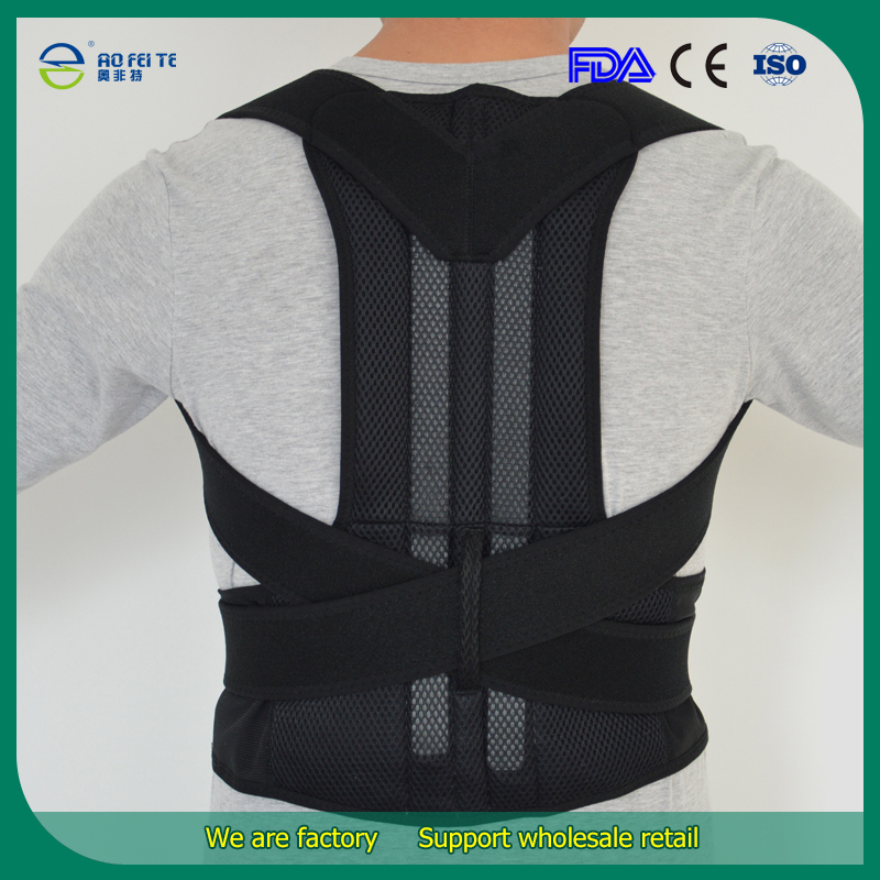product Adjustable Magnetic Posture Back Support Corrector Belt Band Feel Young Belt Brace Shoulder Braces & Supports for Sport Safety