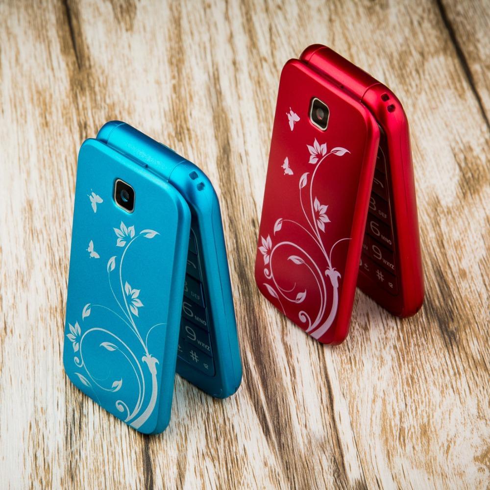 Cool!!! Flip Phone clamshell FORME C3 dual sim bluetooth telefon cellphone celular original cell phone unlocked mobile phone(China (Mainland))