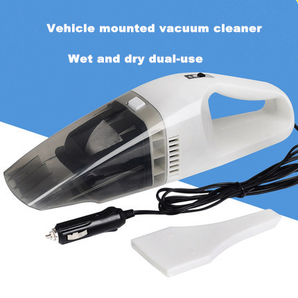 Hot sale! Promotion Auto Accessories Portable 2.5M 12V 75W Car Vacuum Cleaner Aspirador Super Suction Free Shipping White Black(China (Mainland))