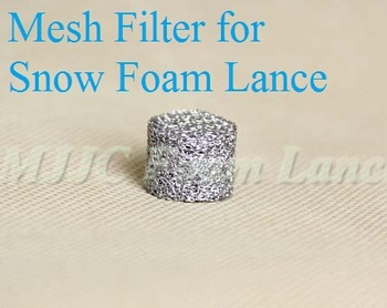 Foam Lance Filter Mesh Filter Tablet Made in Italy 45 days money back guarantee for undelivered packages