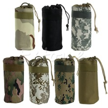Newest Outdoor Tactical Military Water Bottle Bag Kettle Pouch Holder Carrier(China (Mainland))