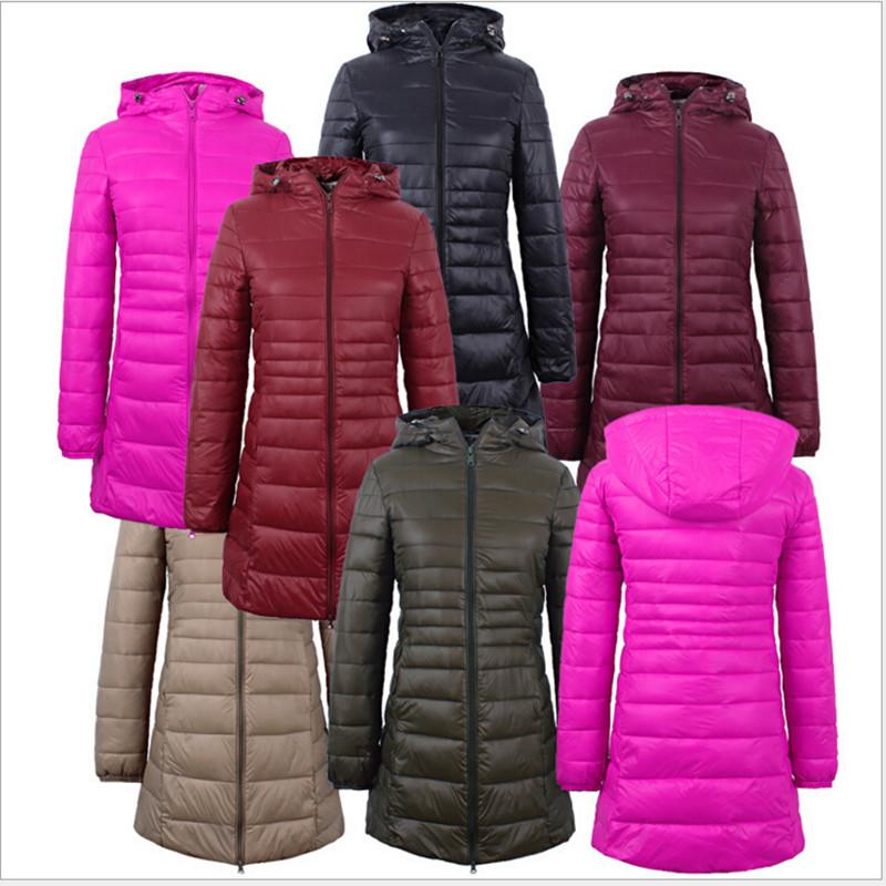 2015 New Winter Jacket Women Cotton Coat Slim Parkas Ladies Coat Long Hooded Plus Size Ultra