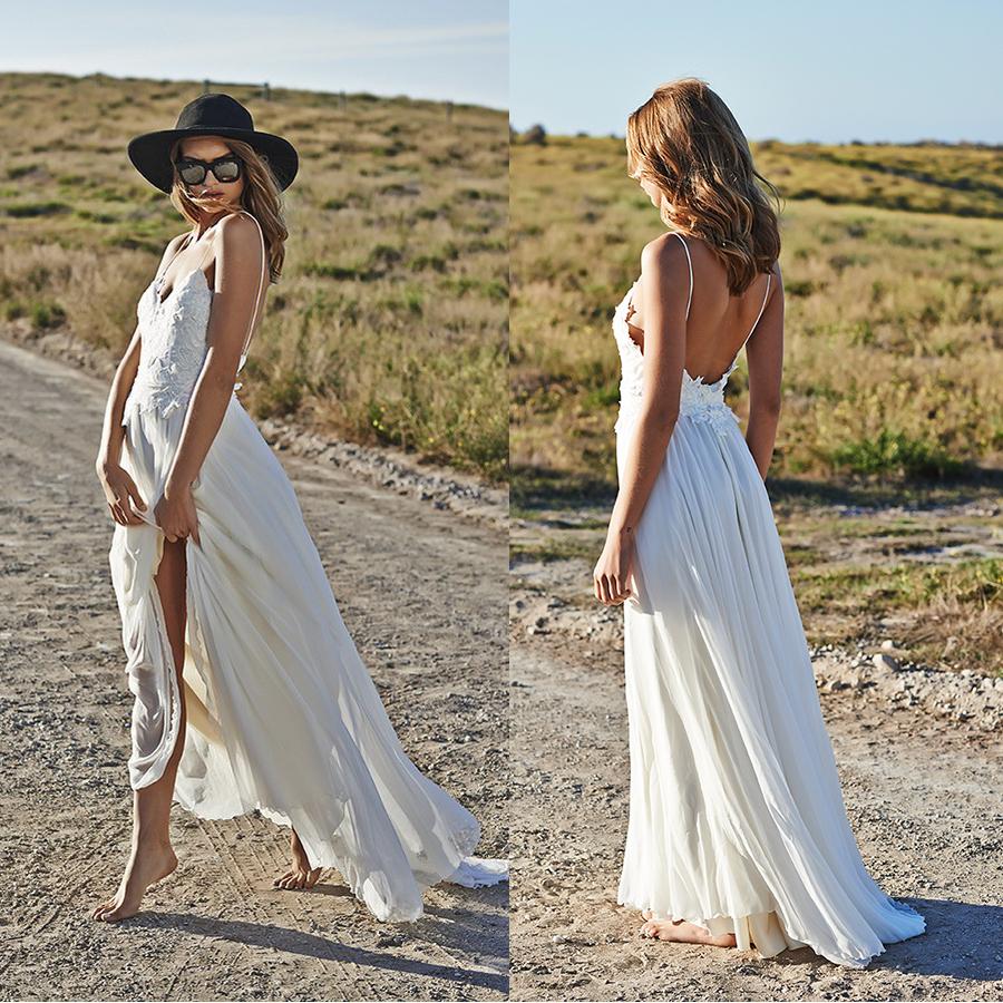 Bohemian Hippie Style Wedding Dresses Style Boho Wedding Dress