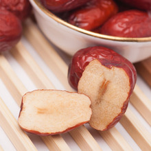 200g Green nature food Chinese red Jujube Premium red date Dried fruit China health snacks good