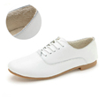 2016 women flats Genuine leather women casual shoes Plus cotton lace up loafers ballerina oxford shoes