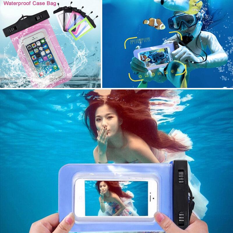 PVC Waterproof Diving Bag For Samsung Galaxy I679 N7505 A5 A7 A3 2016 J7 J7 2016 G3812/G3815 S5Mini Mobile Phones Pouch Case(China (Mainland))
