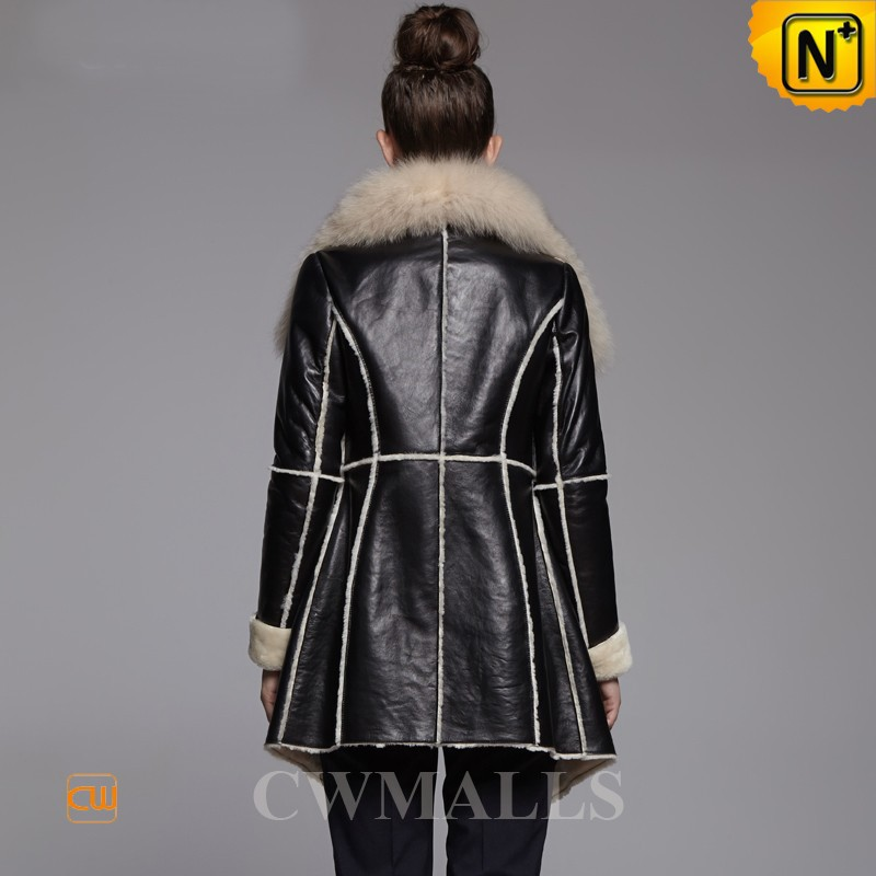 Shearling Fur Coats - Coat Nj