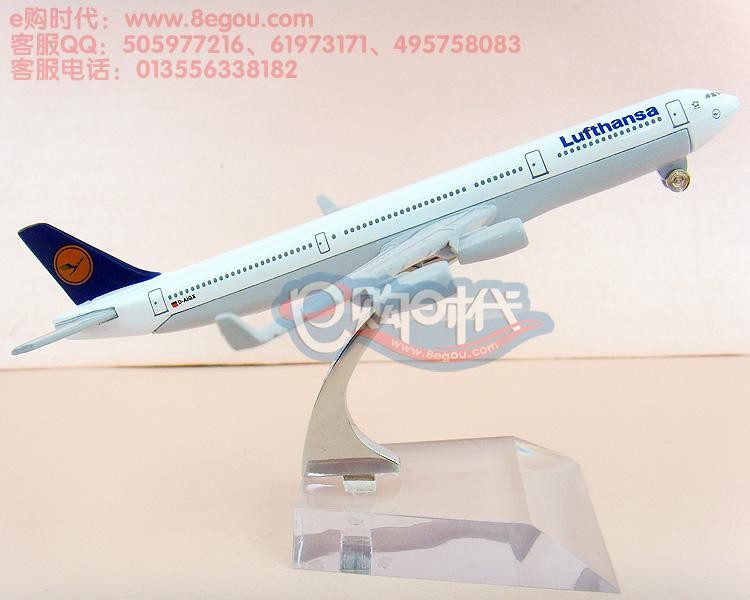 16cm Metal airlines plane model Lufthansa German Airlines 737-800 aircraft model airplane model for children toys(China (Mainland))