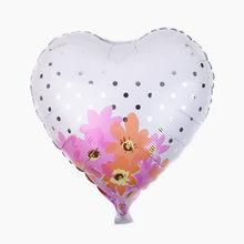 TSZWJ 1 pcs חדש לב בצורת הכלה וחתן אלומיניום בלון כדור יום הולדת מסיבת חתונה שמלת בלון סיטונאי(China)
