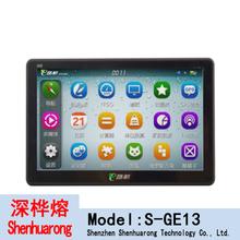 model No.E13 Ultra-thin models Resistive touch screen 7.0-inch HD screen Vehicle GPS navigation for eroda