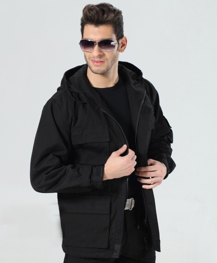 Military style hooded jackets for men pilot coat usa army 101 air force bomber outdoor M65 jacket(China (Mainland))
