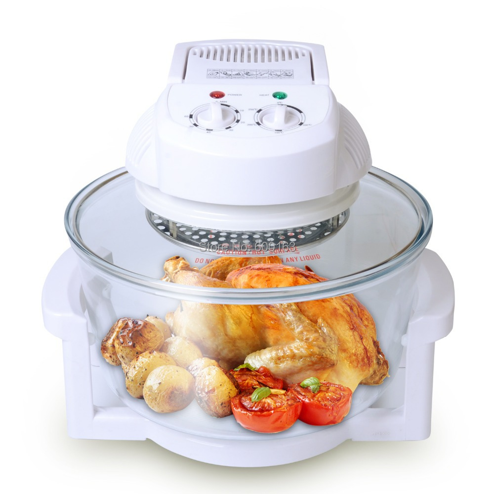 Homeleader K43/001 Countertop Convection Cooking Toaster Oven 12L with ...
