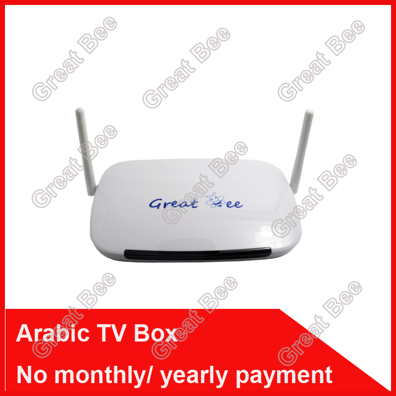 2016 Remote Control Free, Arabic IPTV Box, Over 400 IPTV Arabic Channel TV Box Free Shipping Free lifetime(China (Mainland))
