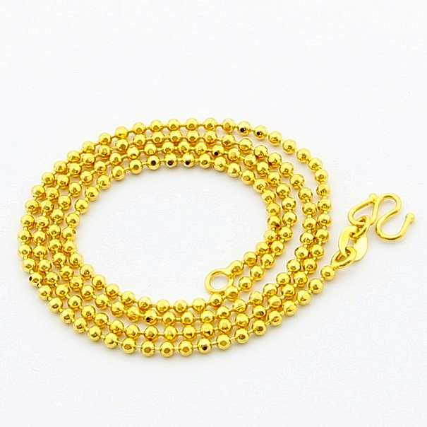 New Arrival Fashion 24K GP Gold Plated Necklace Mens & Women Yellow Gold Golden Jewelry Necklace Free Shipping YHDN091(China (Mainland))