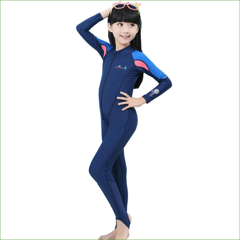 DSP02 UPF 50+ Lycra Children Kids Swim stinger suit Dive Skin Snorkeling Surf Waterski anti-uv wear Diving Suit <br><br>Aliexpress