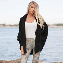 2018 женский трикотаж европейский и американский горячий стиль женский осенне-зимний свитер летучая мышь кардиган женский 184(China)