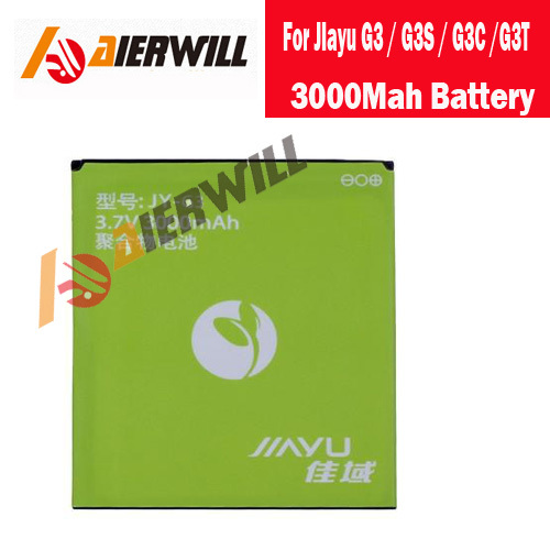 100% Original 3000Mah Battery For JIayu G3 / G3S / G3C /G3T Smart Mobile Phone + Free Shipping + Tracking Number(China (Mainland))