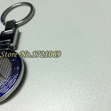 1pcs High Quality 95mm for Mercede Bens Zinc Alloy Metal Blue Car Keychains Key Ring Key Chain For MB Free Shipping(China (Mainland))