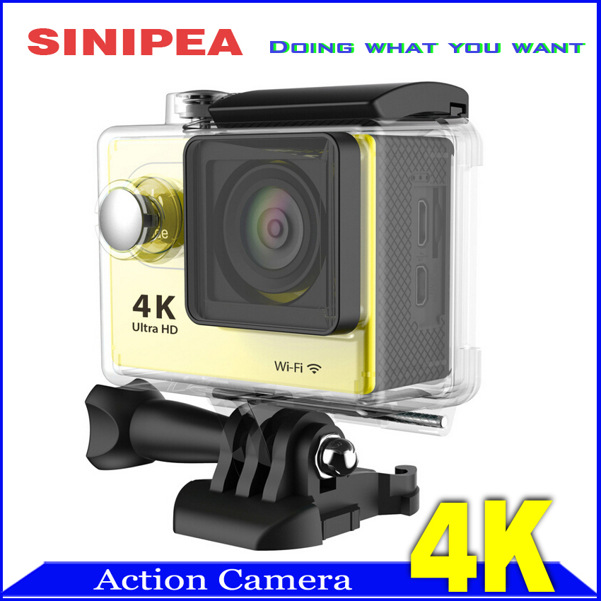 New Arrival Waterproof WiFi DV Action Camera 4K 1080P Full HD SJ4000 Style 2.0 in 170 Degree Angle Lens(China (Mainland))