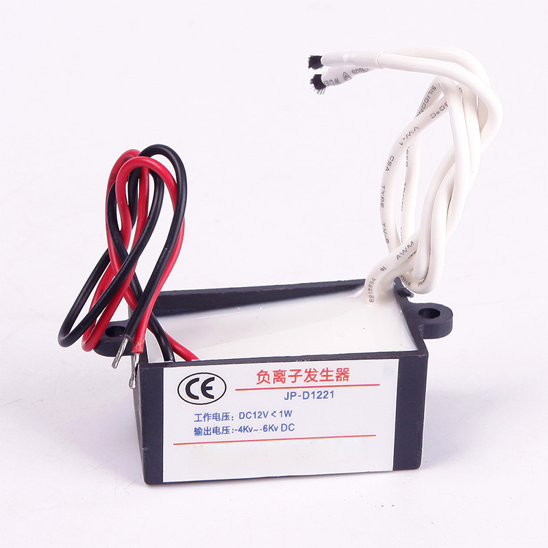 New Portable DC 12V High Output Air Ionizer Airborne Cleaner Negative Ion Anion Generator #68433(China (Mainland))