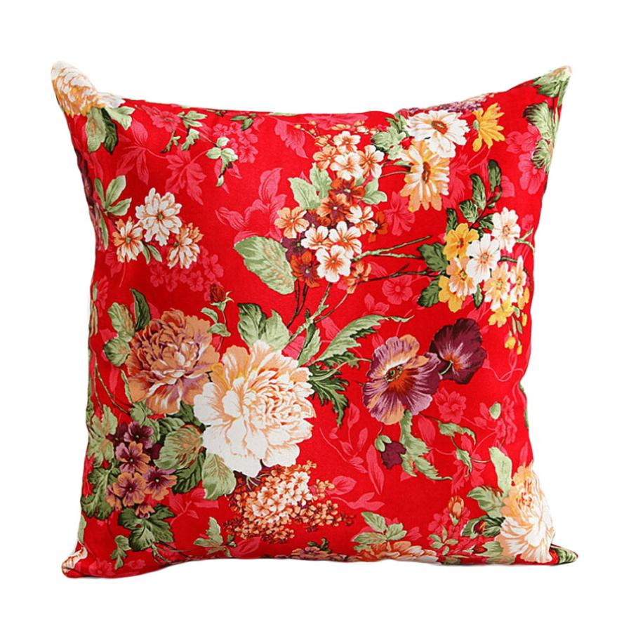 Beautiful Decorative Bed Pillows : New Qualified Beautiful Flowers Sofa Bed Home Decor Pillow Case Cushion Cover dig6314-in Cushion ...