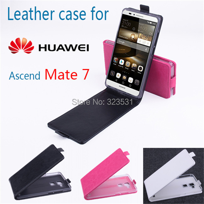 Original Huawei Ascend Mate7 Mobile phone flip stand cover leather case.Super quality case - ABest Mall store
