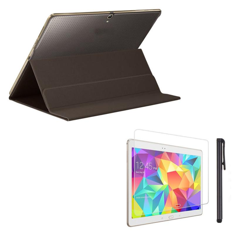 Ultra Slim Book Cover Case Stand For Samsung Galaxy Tab S 10.5 Inch SM-T800/T805 with Film and Pen  jn7<br><br>Aliexpress