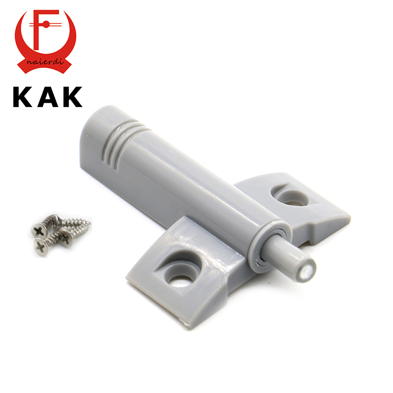 NED High Quality 10Set/Lot Gray White Kitchen Cabinet Door Stop Drawer Soft Quiet Close Closer Damper Buffers With Screws(China (Mainland))