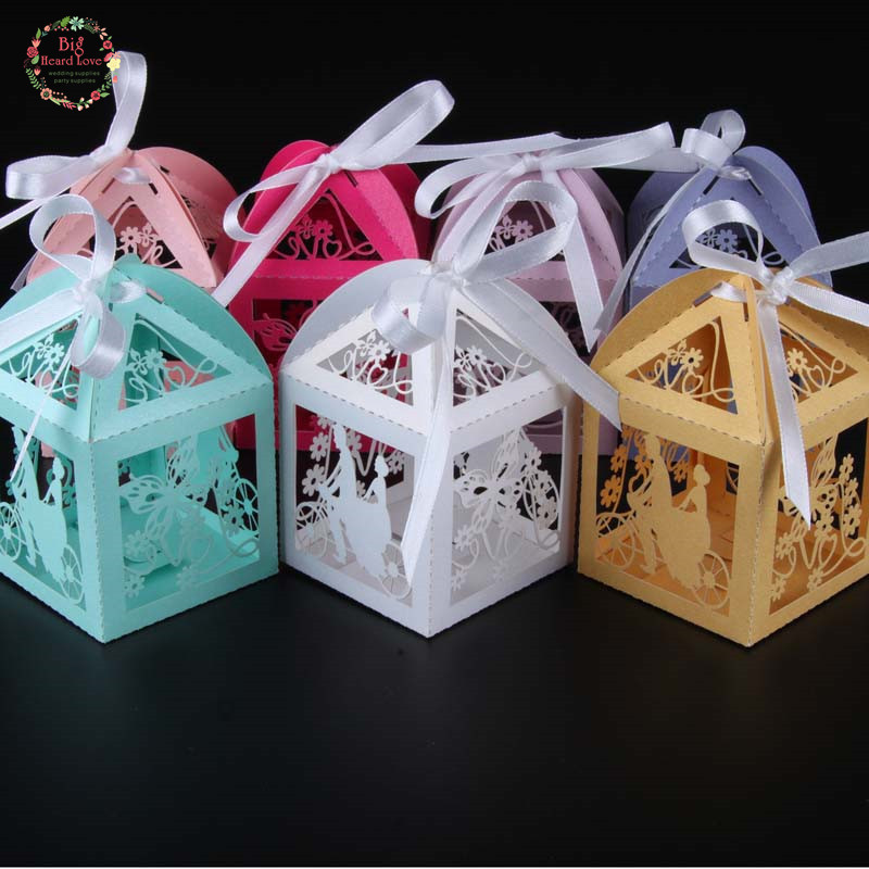 Wedding Party Gifts For Bride And Groom : groom party wedding candy box butterfly wedding box gift box wedding ...