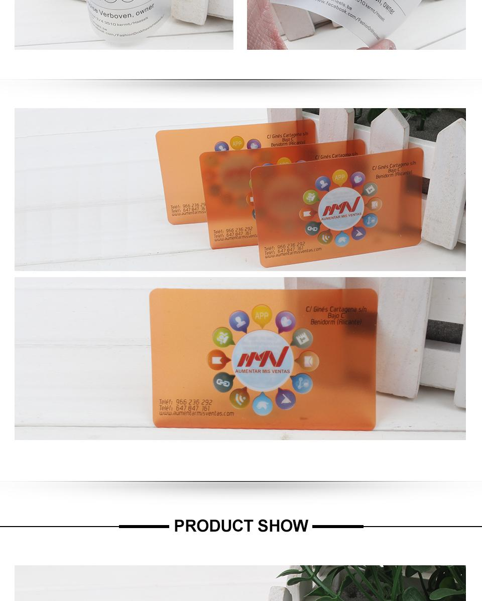 Wholesale custom printed business card pvc transparent frosted greeting cards have a long time history in the old time people send greeting cards to show their friendly and apparition nowadays with the development magicingreecefo Choice Image