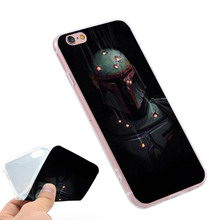 Buy star wars boba fett Clear Soft TPU Slim Silicon Phone Case Cover iPhone 4 4S 5C 5 SE 5S 7 6 6S Plus 4.7 5.5 inch for $3.19 in AliExpress store