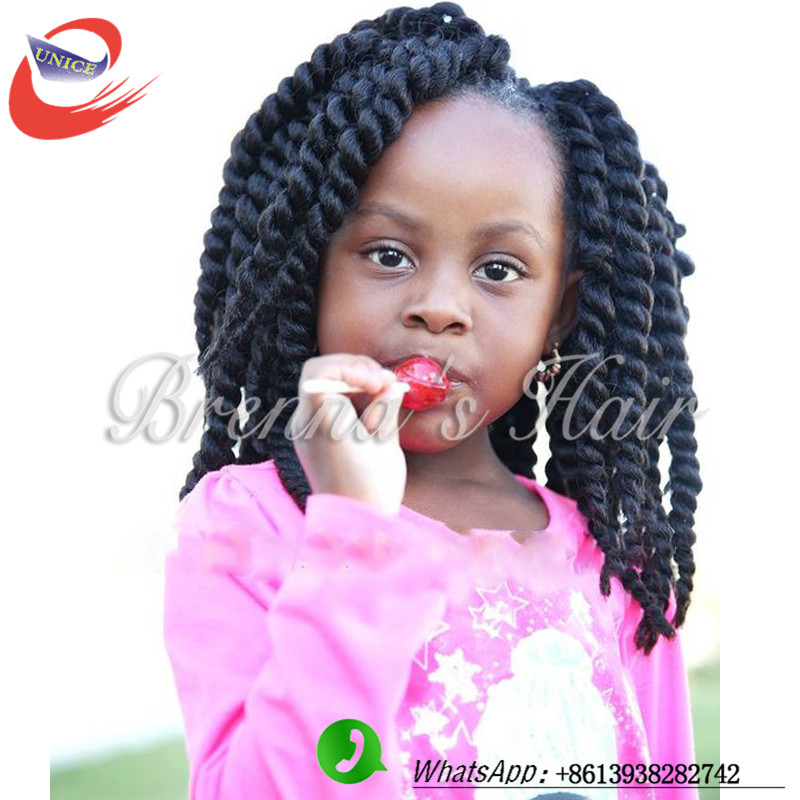 kids havana twist 12inch short senegalese crochet twist braids hair ...