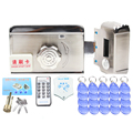 stainless steel intelligent entry device Door Access Control System Remote Control ID Card Reader Open Electric