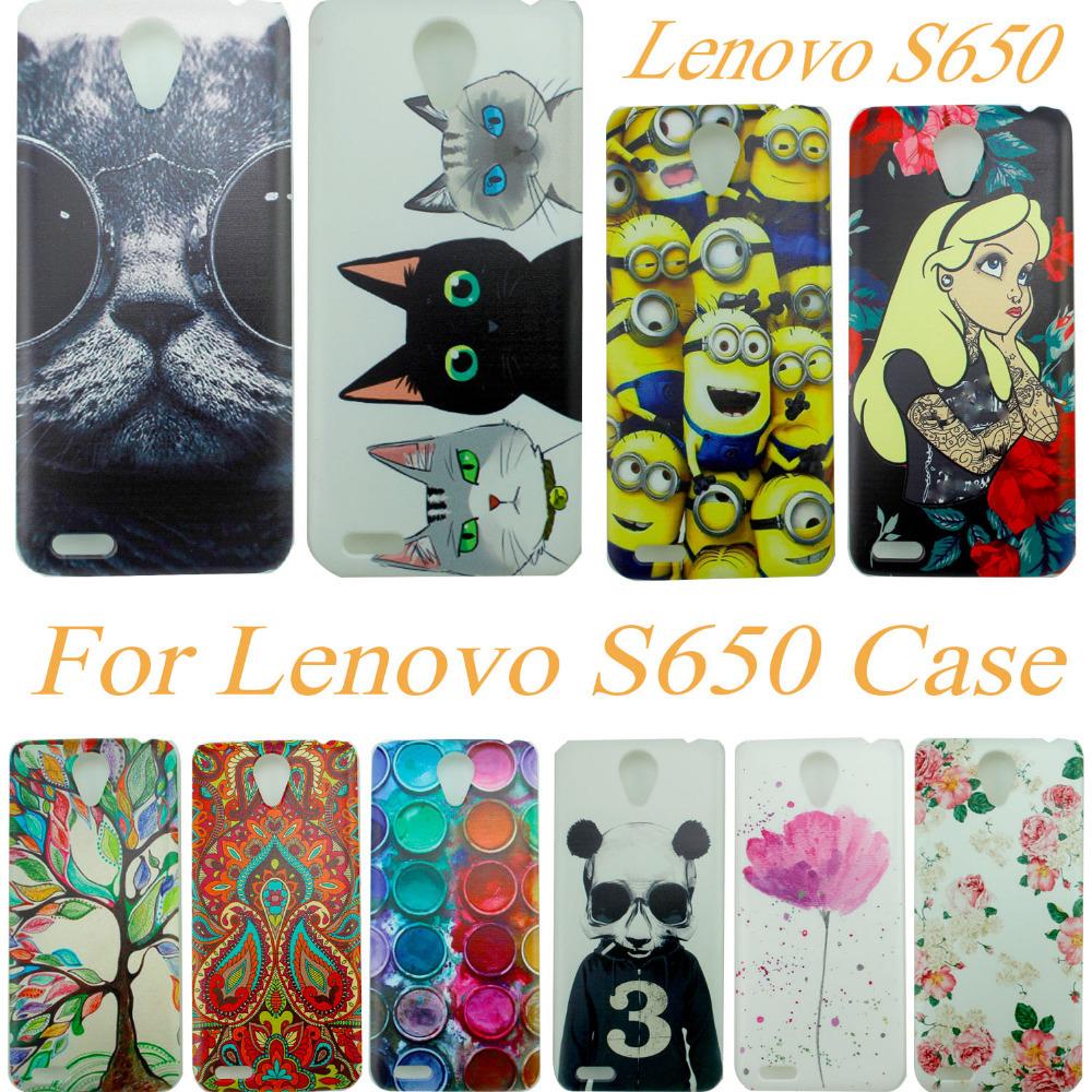 Taken @  Animal Cover Hard Case lenovo S650 Cases Back Cover .  Case For lenovo s658t s650 phone case(China (Mainland))